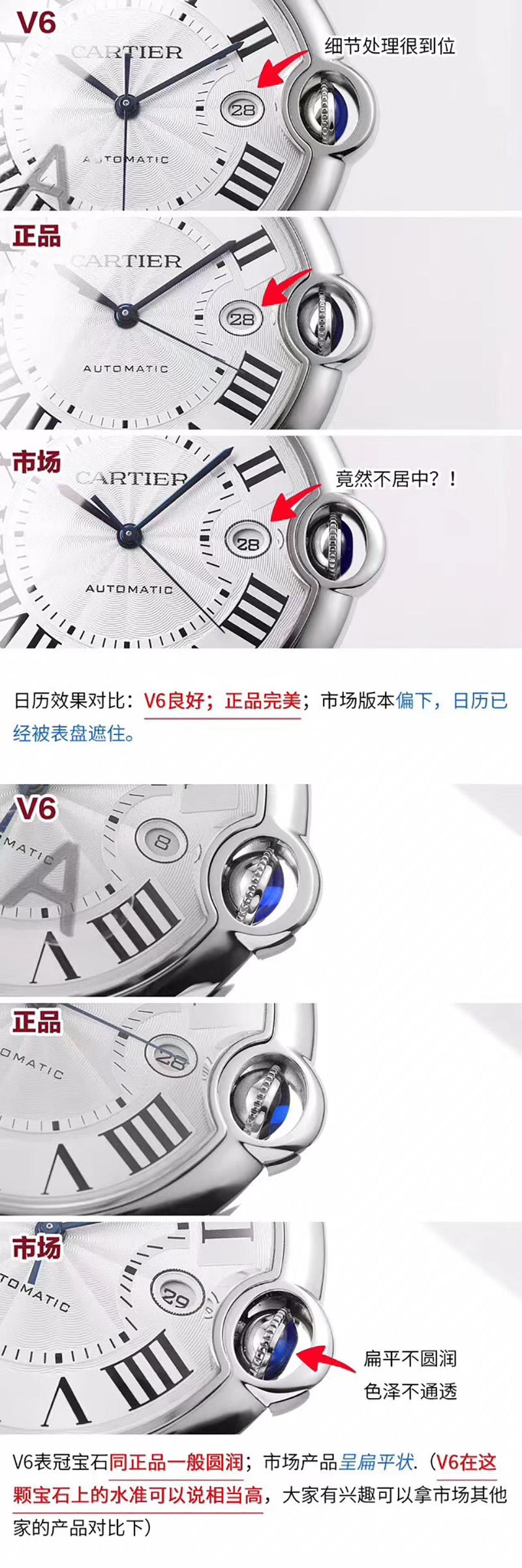 V7版蓝气球-V6厂蓝气球V7版对比正品  第5张
