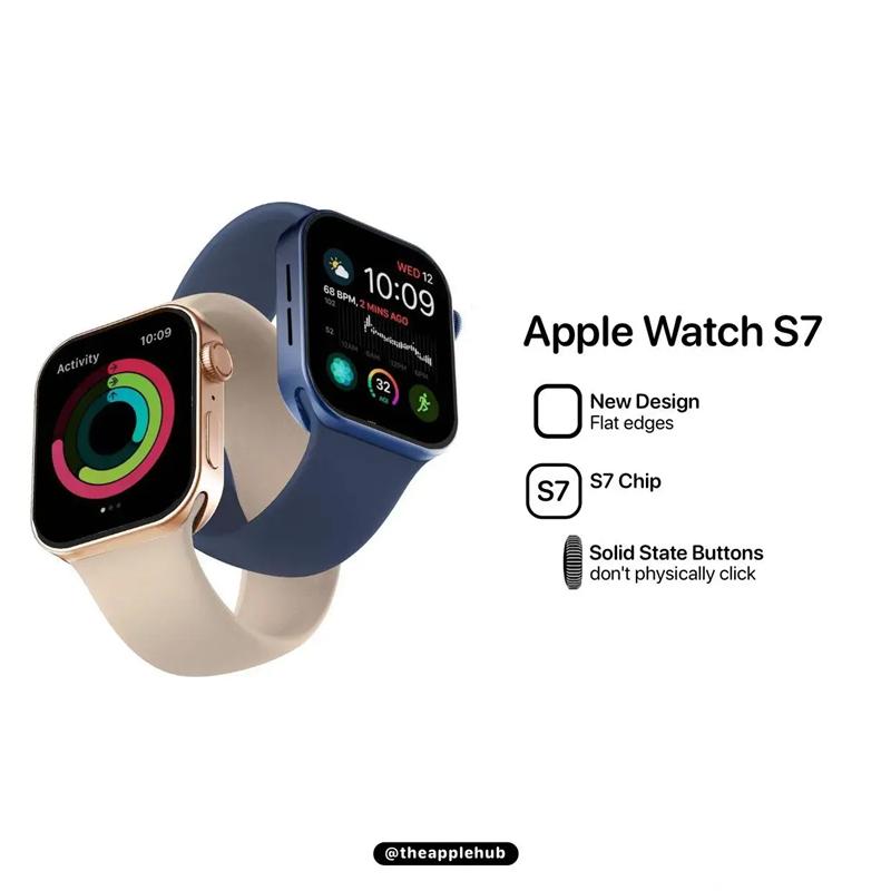 Apple WatchS7最物超所值的智能手表