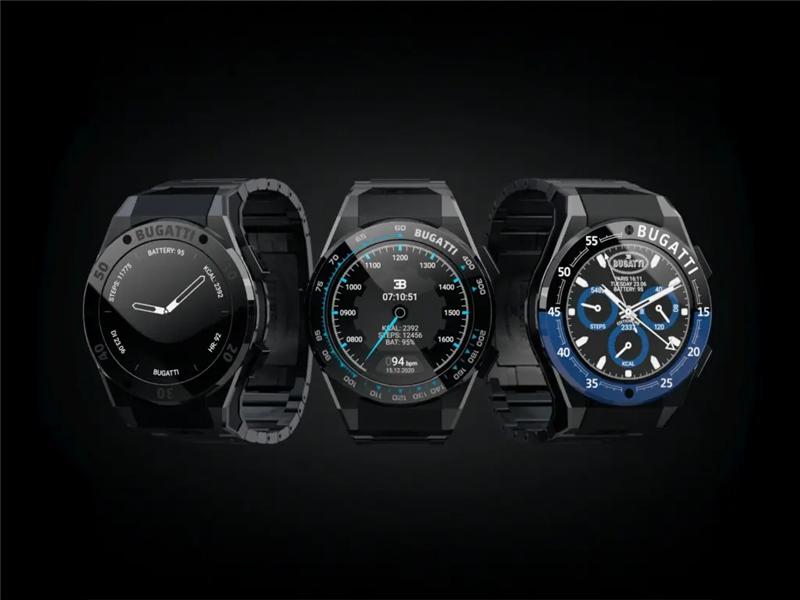 布加迪与奥地利智能手表制造商Viita Watches合作推出