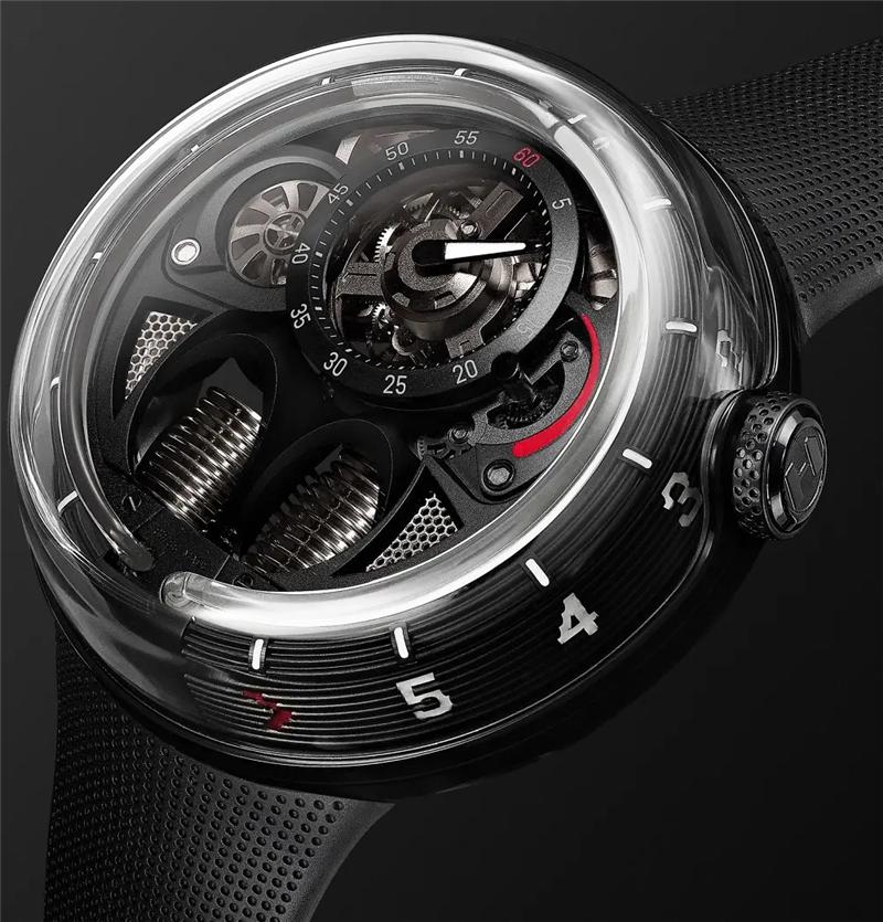 独立表厂 HYT推出「H1.0 MR PORTER Limited Edition」腕表