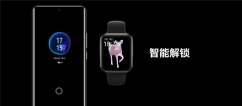 Apple Watch可与手机同步使用
