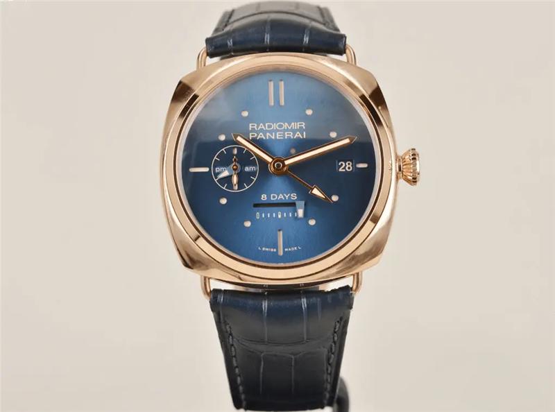 沛纳海推出全新LUMINOR 庐米诺系列红金计时腕表